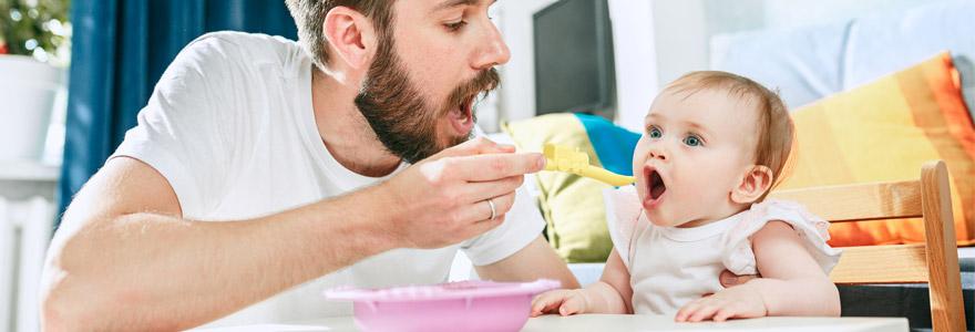Parents débordés nourrir leurs enfants
